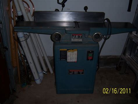 woodworking jointer reviews review used jet jj 6cs jointer seems to be a bargain