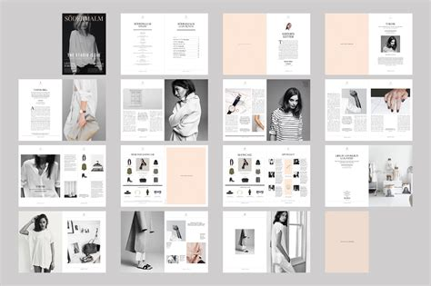 book layout ideas s 246 dermalm magazine template on behance