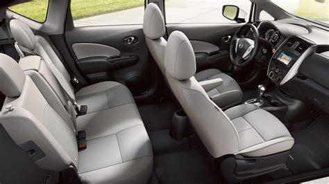 nissan versa 2016 interior 2016 nissan versa note review