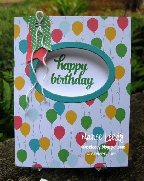 How To Make Handmade Paper Ls - 710 best stin up birthday images on paper