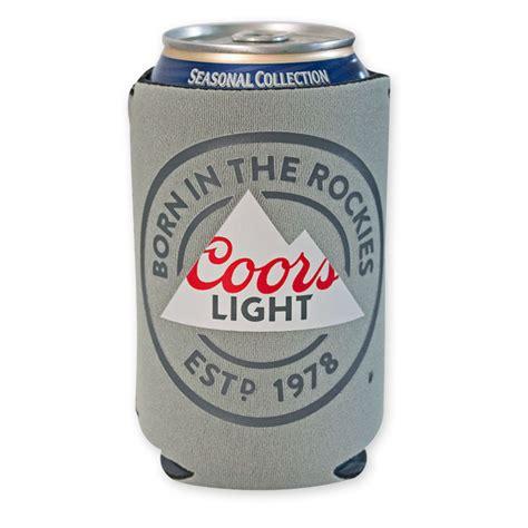 bud light 16 oz aluminum bottle koozie coors light 16 oz aluminum bottle koozie