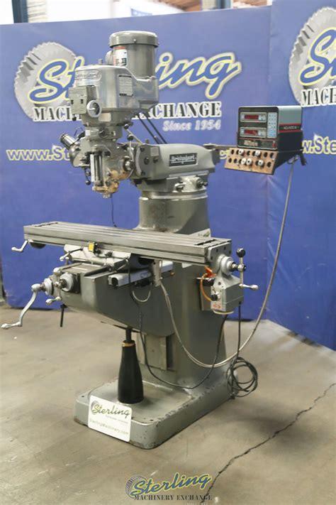 bridgeport variable speed vertical milling machine