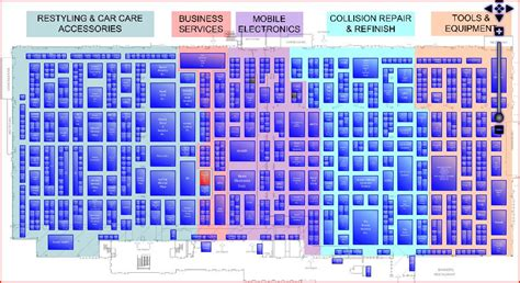 sema show floor plan sema and aapex show here we come