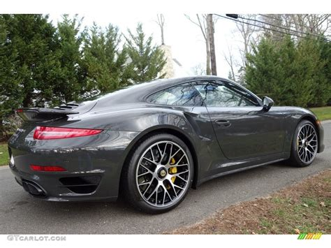 grey porsche 911 turbo 2016 slate grey paint to sle porsche 911 turbo s coupe