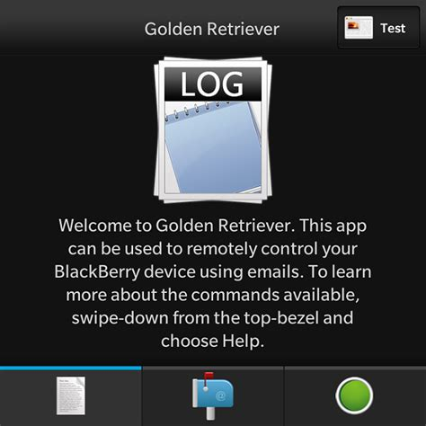 reset blackberry using command prompt golden retriever remotely control and interact with your
