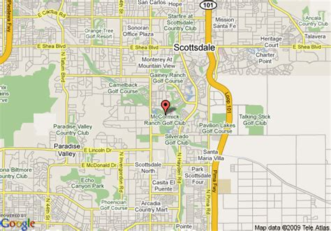 us map scottsdale arizona map of scottsdale resort and conference center scottsdale