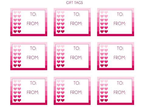printable gift tags for valentines 8 best images of funny valentine printable gift tags