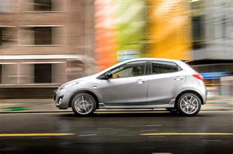 mazda car line two colour edition models added to mazda2 line up