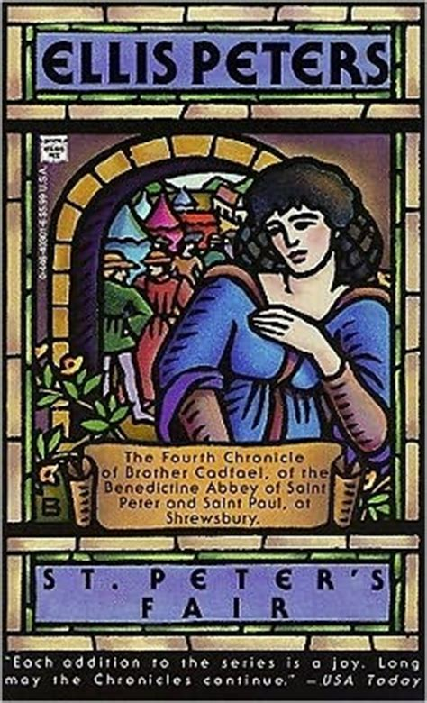 s fair the chronicles of cadfael books st s fair by ellis peters