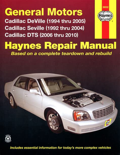 buy car manuals 2001 cadillac seville free book repair manuals cadillac 1992 2005