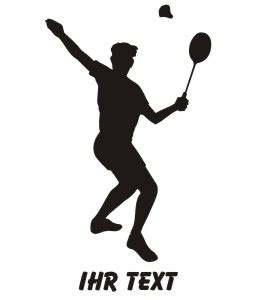 Autoaufkleber Nass Oder Trocken Verkleben by Badminton Aufkleber Autoaufkleber Mit Text