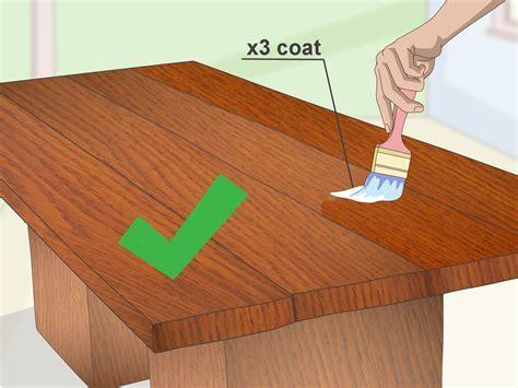 3 formas de impermeabilizar madera   wikiHow