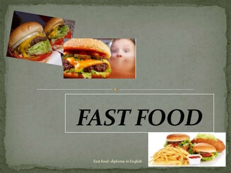 Presentation About Fast Food Related Keywords Presentation About Fast Food Long Tail Keywords Fast Food Ppt Slides
