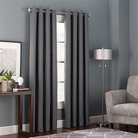 bed screen curtain bianca grommet top window curtain panel bed bath beyond