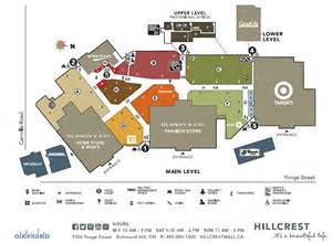 map of canada mall hillcrest mall located in richmond hill ontario location