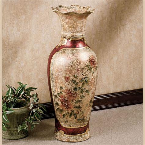 Beads Decoration Home by Elysian Blooming Floor Vase