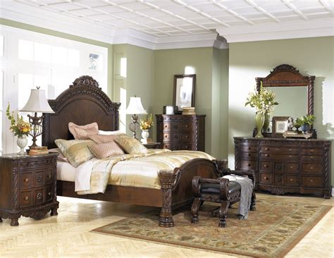 north shore panel bedroom set north shore panel bedroom set from ashley b553 coleman