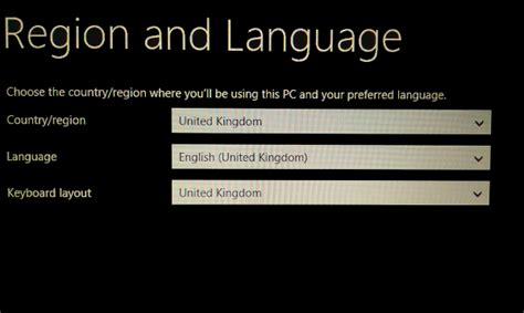 region and language knowhow setting up windows 8 on your computer