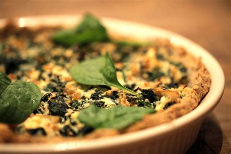spinach and ricotta pie pastry crust version the
