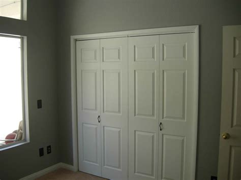 Closet Door Opening by Sliding White Closet Doors Design With