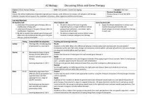 home and careers lesson plans ethics and gene therapy interview lesson plan