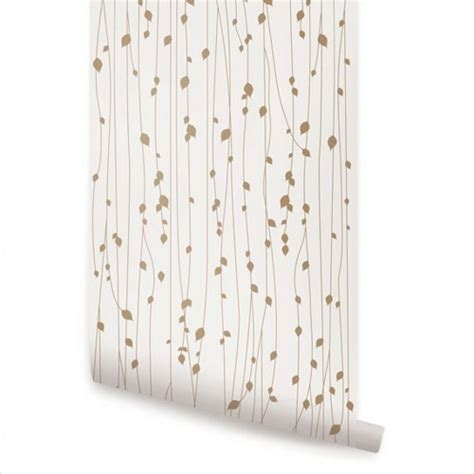 peel and stick wallpaper birch tree peel and stick fabric wallpaper repositionable simpleshapes furnishings on artfire