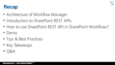 sharepoint workflow best practices getting started with sharepoint rest api in custom