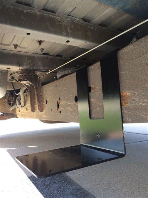 frame mount external auxiliary battery box motovan