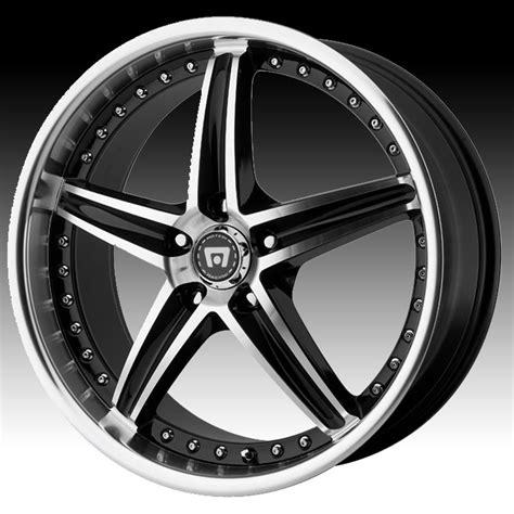 Handmade Wheels - motegi racing mr107 107 gloss black machined custom rims