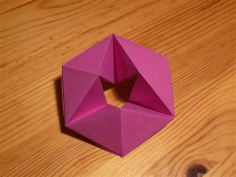 How To Make A Paper Hexaflexagon - 44 best hexaflexagon images on origami paper