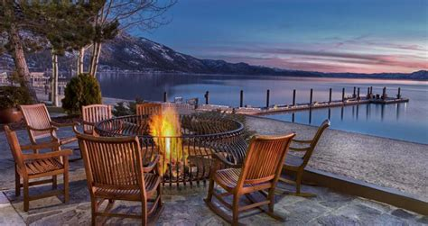 spectacular weekend getaways of a collection of lakeside front hill country and city hotels resorts and rentals for the modern day explorer books lakeside cottages at the hyatt regency lake tahoe