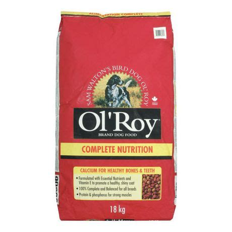 walmart puppy food ol roy complete nutrition food walmart canada