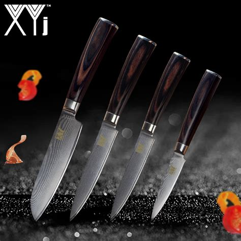 knives in the kitchen 2018 xyj kitchen knife new arrival 2018 damascus cooking knives vg10 japanese damascus steel
