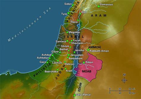 map of moab moab