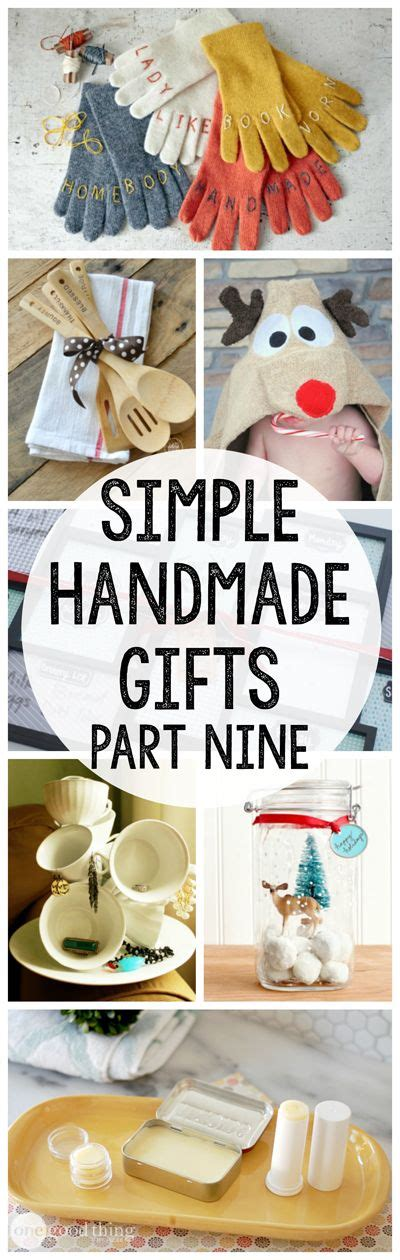 Meaningful Handmade Gifts - crafts gifts and on