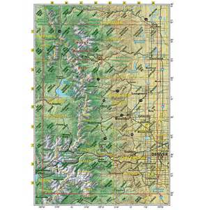 front range trails colorado recreation topo map