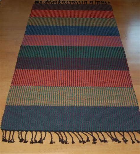 Custom Made Rugs by Custom Woven Striped Rug By Tarja Cockell