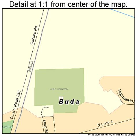map of buda texas buda texas map 4811080