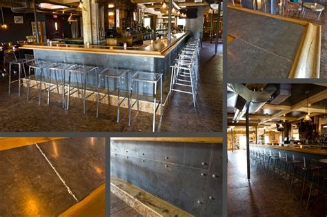 Metal Top Bar 37 Best Images About Restaurant Design Insp On