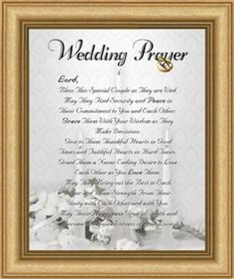 Wedding Blessing Words Christian by 1000 Ideas About Wedding Prayer On