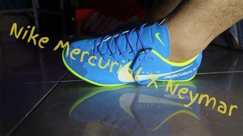 Sepatu Futsal Nike Mercurial Vapor Xi Tongles Ungu Ic Grade Ori Import unboxing nike mercurial vapor xi neymar futsal unbxpart2