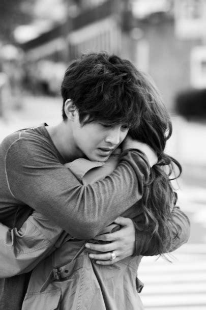hot photos hug quot city conquest quot kim hyun joong and jung yoo mi hug with