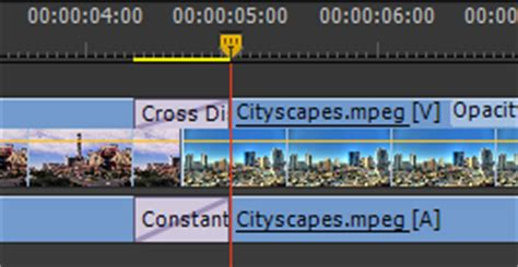 adobe premiere pro how to split a clip how to split a video clip then apply a transition