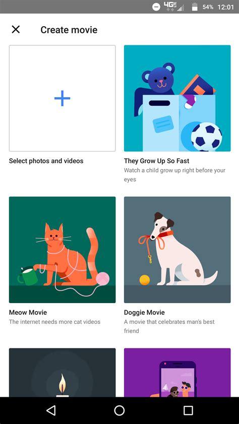 google themes movies google photos themed movies 1 9to5google