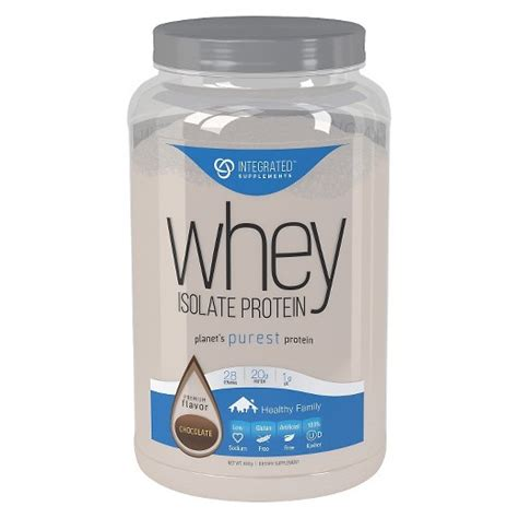 best whey isolate protein powder integrated supplements chocolate whey isolate protein