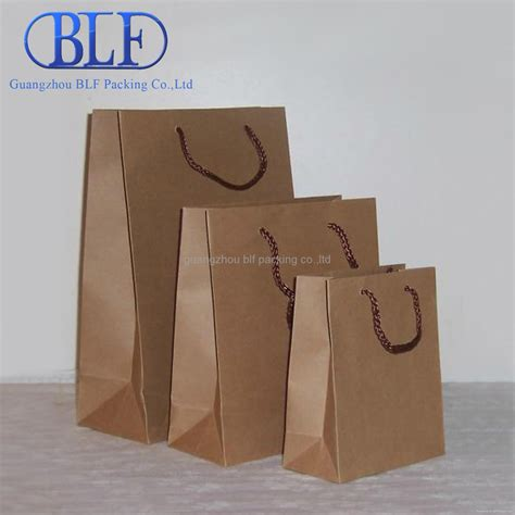 Printing On Craft Paper - custom printed brown kraft paper bag blf pb003 blf or