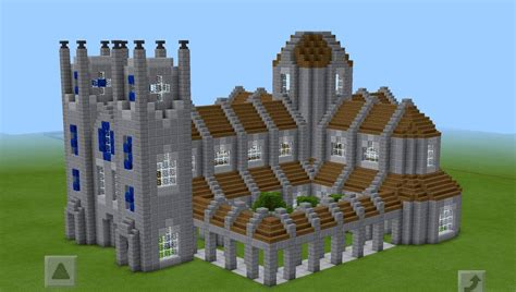 House Plans For A View by Minecraft Cathedral Test Build By Planetarymap On Deviantart