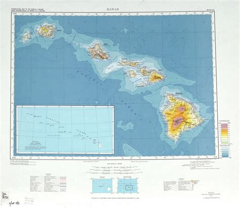 map of the united states and hawaii large detailed topographical map of hawaii state usa