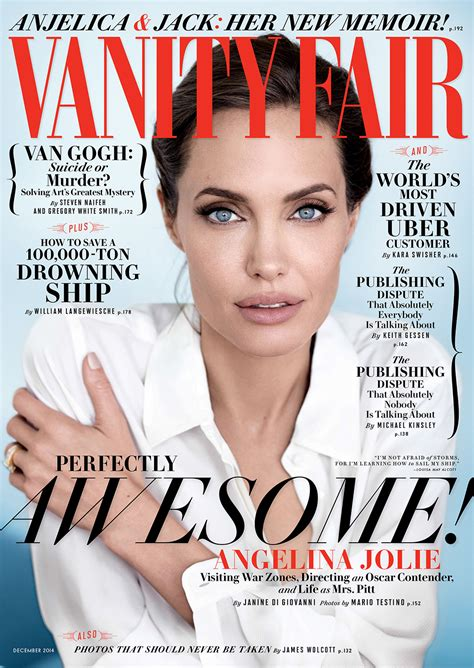 Cover Of Vanity Fair cover exclusive on being married to brad pitt it doe vanity fair