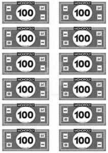 monopoly money 100 s by leighboi on deviantart